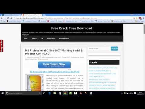 Come Scaricare Microsoft Office Professional 2007 ITA PC