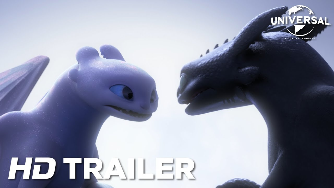 Drachenzahmen Leicht Gemacht 3 Die Geheime Welt Offizieller Trailer 2 Hd Youtube