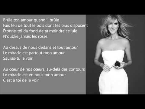 Le Miracle [Céline Dion] EasyREAD Lyrics