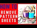 Burda Sewing Tutorials |  Magazine Pattern Sheets | Burda 101 | Pt.1