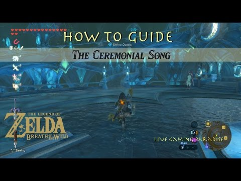 Breath of the Wild | The Ceremonial Song | Dagah Keek Shrine Guide