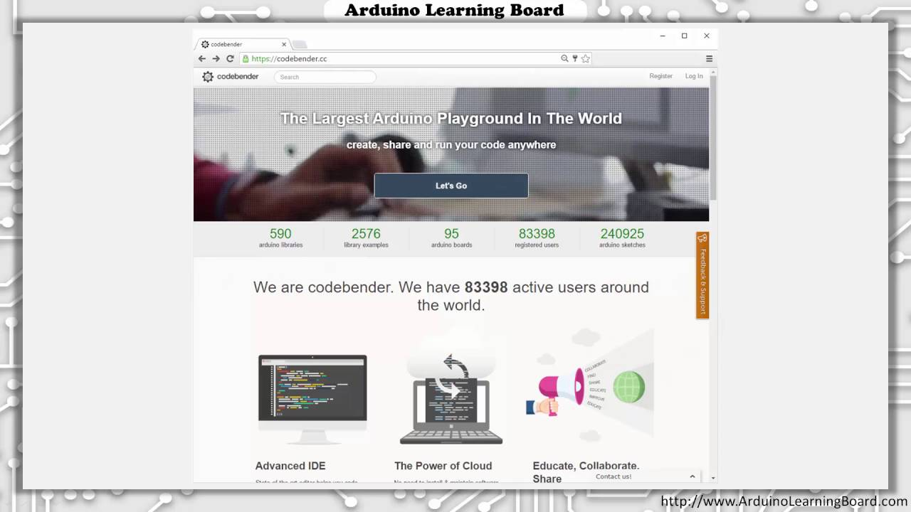 Lesson 2 - Introduction to Arduino Learning Board and CodeBender
