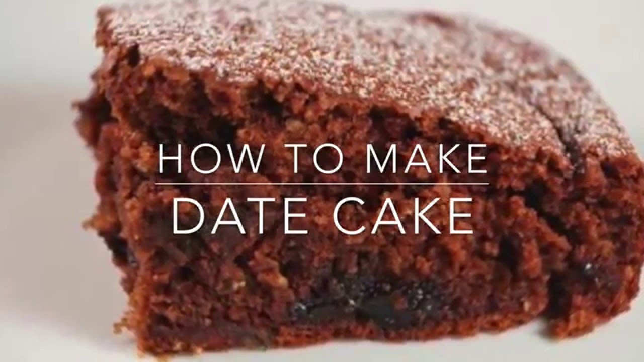 the date cake recipe and prepare it in your home