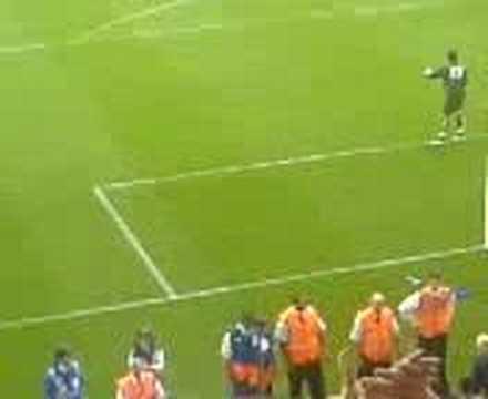 Man United v Preston friendly 2006
