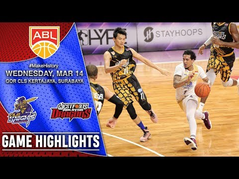 CLS Knights Indonesia vs Westports Malaysia Dragons | HIGHLIGHTS | 2017-2018 ASEAN Basketball League Mp3