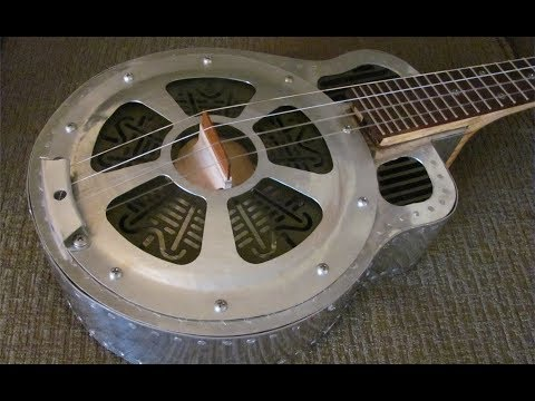 Radial Engine Themed Resonator Ukulele Construction.  AVT 206 A&P