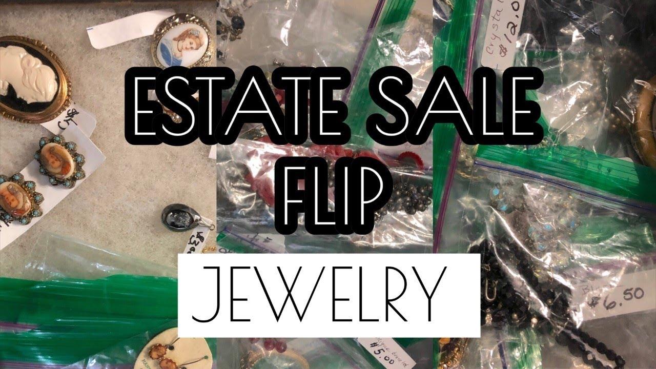 Antique & Vintage Estate Jewelry Haul To Resell on Etsy eBay Poshmark etc