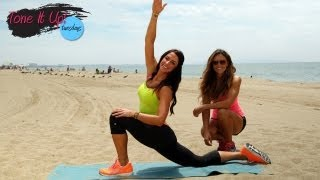 Post-Workout Stretch Routine | Tone It Up Tuesdays