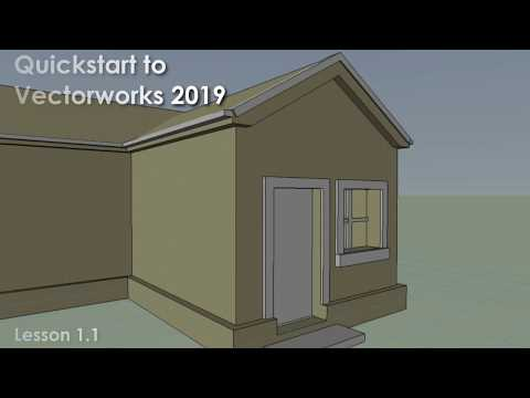 Getting Started With Vectorworks - Part 1