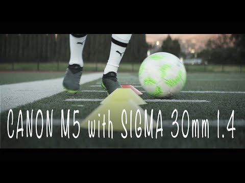 Canon M5 with Sigma 30mm 1.4   Don't dream of it, train for it