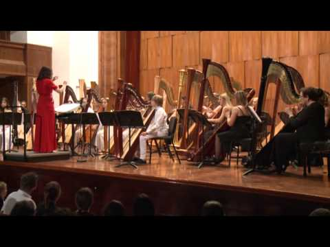 Ljubomir Nikolic - Bugarka - 13th International harp festival (Belgrade 2014)