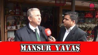 Ankara Büyükşehir Belediye Başkan Adayı Mansur YAV