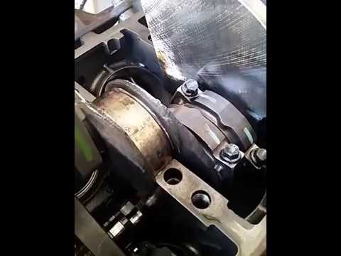 6 4l Diesel Engine Teardown Crankshaft Thrust Bearing