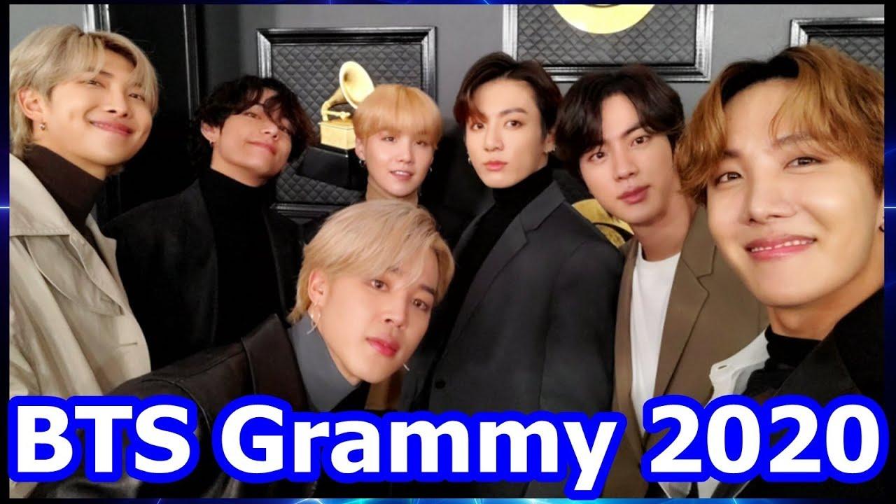 BTS Grammy 2020