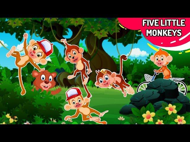 Five Little Monkeys Jumping on the Bed, Duck Song   +More Nursery Rhymes & Kids Songs - Baby Hazel
