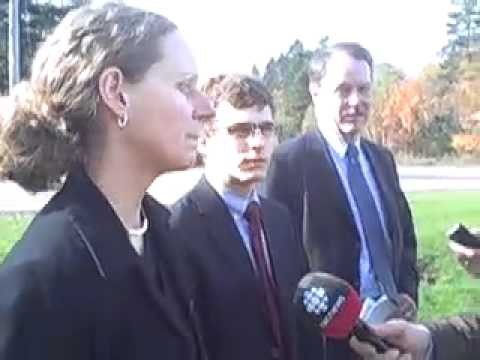 Press conference on AquaBounty (Prince Edward Island)