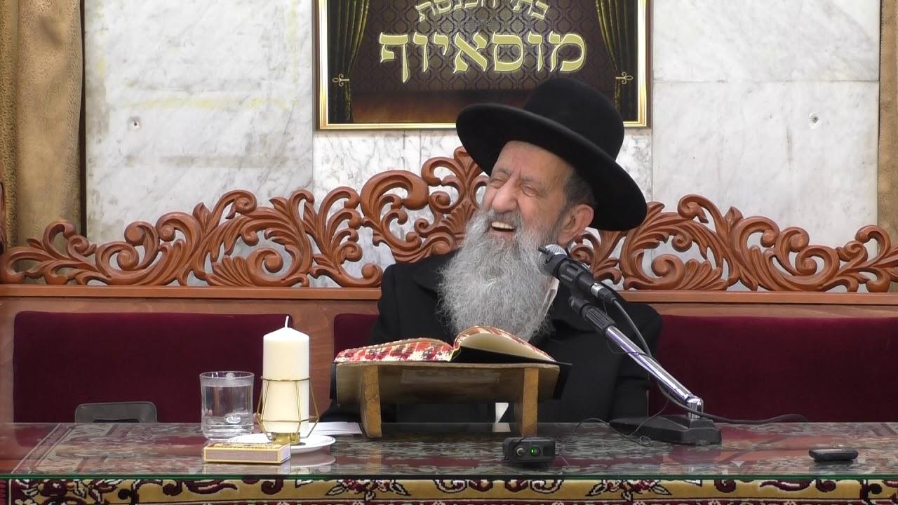 הרב בן ציון מוצפי דיני קריאת ספר התורה