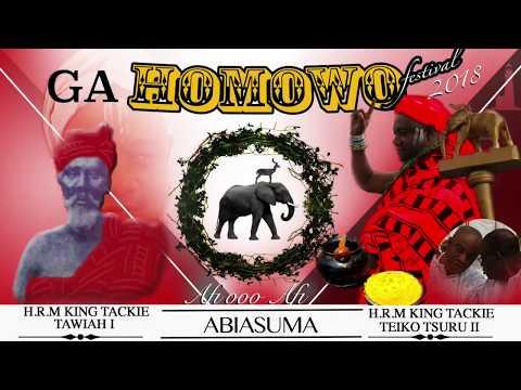 Ga Mantse H.R.M King Tackie Teiko Tsuru II Homowo Message