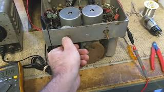 Repair attempt of 1932 Aztec cathedral radio part 1 / ?