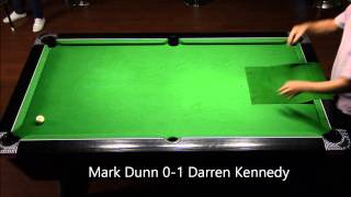 Mark Dunn vs Darren Kennedy