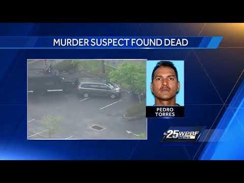 Murder suspect found dead