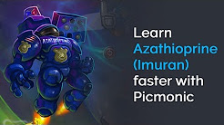 Learn Azathioprine (Imuran) Faster with Picmonic (USMLE, Step 1, Step 2 CK)
