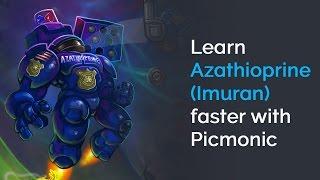 Video Learn Azathioprine (Imuran) Faster with Picmonic (USMLE, Step 1, Step 2 CK) download MP3, 3GP, MP4, WEBM, AVI, FLV Agustus 2018