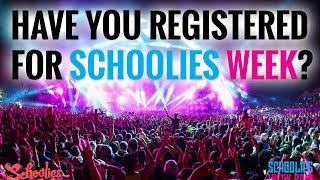Official Schoolies Week Registration