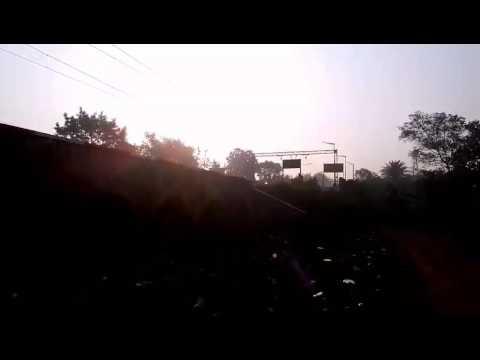 Main Line King Is Here..Black Diamond Express Speeding Through Talandu Station With HWH HOG WAP7..