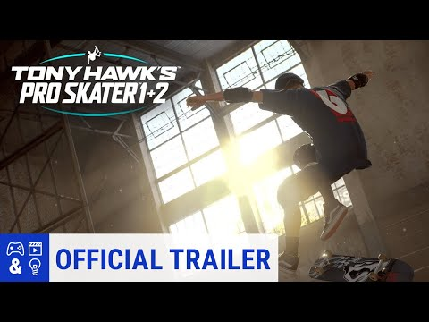Tony Hawk's  Pro Skater 1 and 2 - Official Trailer