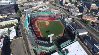 Fenway Park in Boston, MA Drone Aerial Dji Inspire 1 August 1 2015