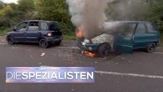 Brennendes Auto! Ölverlust am Auto kostet Lisa fast das Leben! | Auf Streife | SAT.1 TV