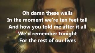 Birdy - Wings (lyrics on screen)