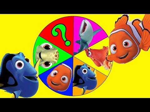 Disney Pixar's Finding Dory SwiggleFish, Blind Packs - Spin The Wheel Game   Ellie Sparkles  