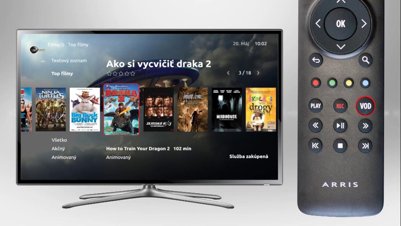 d037f4f9e Digitálna televízia s modernými funkciami | VNET