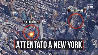 Attentato a New York, le immagini dell'esplosione hanno fatto il giro del mondo