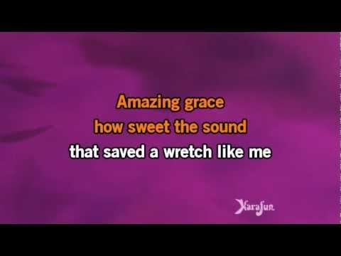 Karaoké Amazing Grace - Laurence Jalbert *
