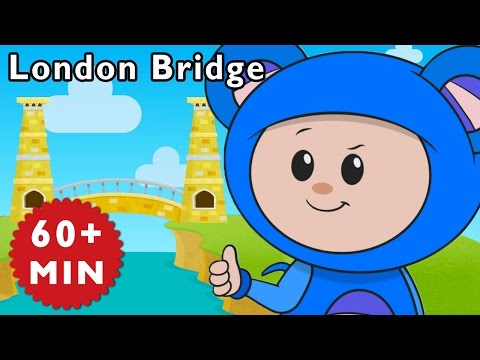 L Is for London | London Bridge and More | Baby Songs from Mother Goose Club!