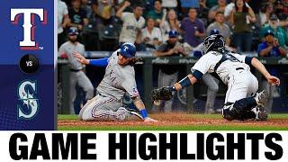 Rangers vs. Mariners Game Highlights (8/10/21)