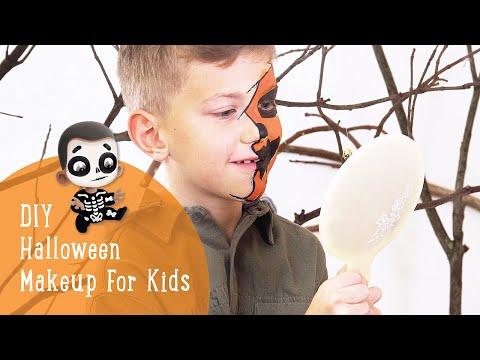 Hooray Heroes - Easy DIY Face Painting Idea for Kids - Halloween makeup tutorial