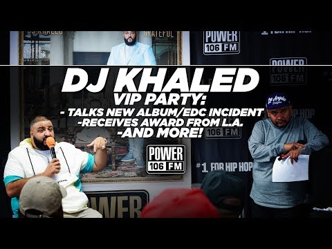 DJ Khaled Addresses EDC Incident + City Of LA Honor