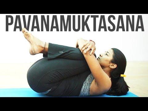 how to do pavanamuktasana  youtube