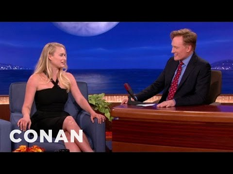 Leven Rambin's First Relationship Was Ruined By Conan