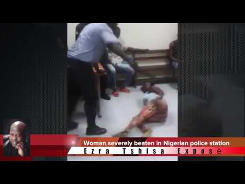 Girl brutally beaten by Nigerian Police thumbnail