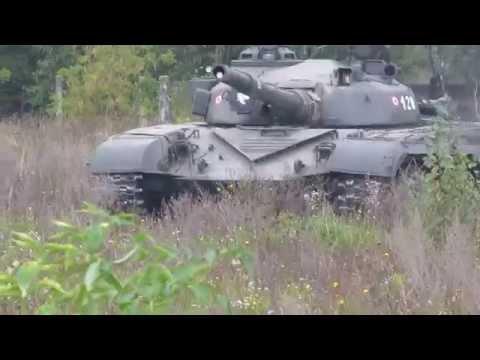 T-72 bemutató Tapolcán