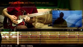 "BandFuse: Rock Legends - Guitar - Lead - Coldplay ""Yellow"""