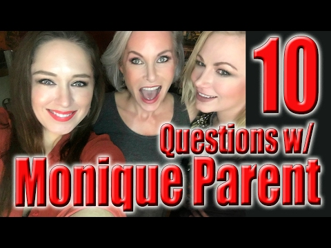 10 Questions with Monique Parent - Part 1 | WIHM | Scream Queen Stream