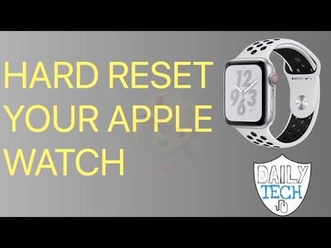 Hard Reset Apple Watch 1-5