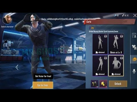 How to get free emote in pubg kr