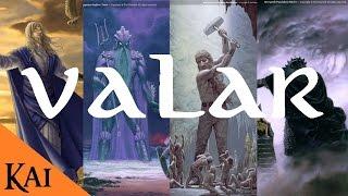 Los Valar (Dioses) de Arda y la Tierra Media